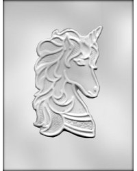 "image: Unicorn large 6 3/8"" chocolate mould"