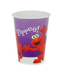 image: Hooray for Elmo party cups (8) Sesame Street