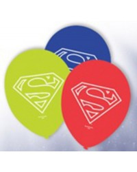 image: Superman party balloons