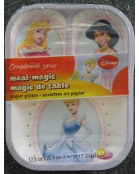 image: Disney Princess divided party plates (12)