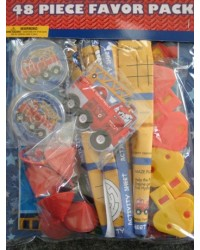image: Fire Engine Fun 48 piece party favour pack