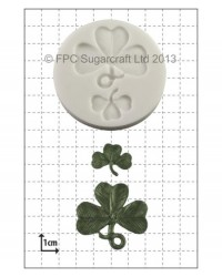 image: Shamrock silicone mould (2 sizes)
