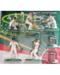 image: Cricket cake topper set