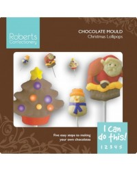 image: Christmas lollipop mould (with instruction card)