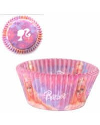 image: Barbie standard baking cups cupcake papers