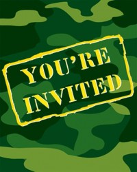 image: Camouflage party invites (8)