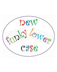 image: FMM Funky lower case alphabet tappit cutter
