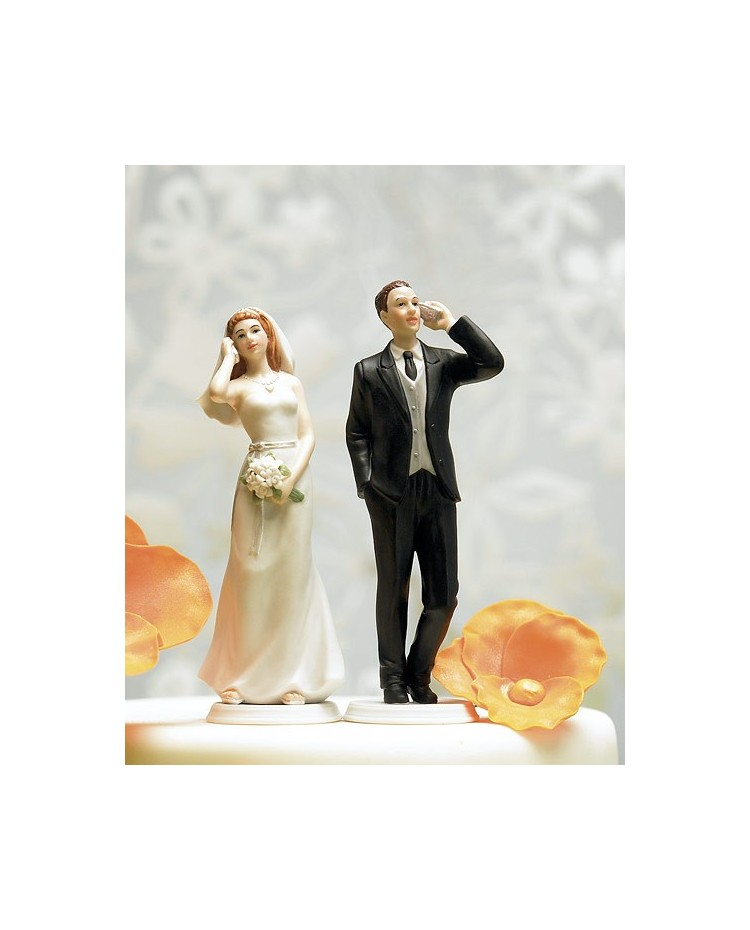 wedding cake toppers nz cell phone fanatic mix amp match cake topper 26560