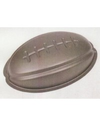 image: Non stick football rugby ball cake pan