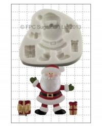 image: Santa with Gifts silicone mould