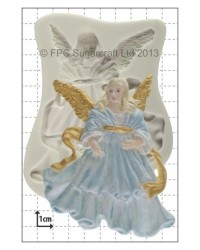 image: Christmas Angel (X-Large) silicone mould