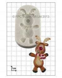 image: Dancing Reindeer silicone mould