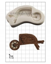 image: Wheelbarrow silicone mould