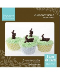 image: Easter shapes chocolate mould (instruction card)