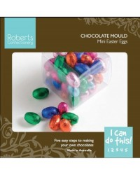 image: Easter MINI eggs chocolate mould (instruction card)