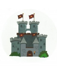 image: Edible Image - Knights Castle