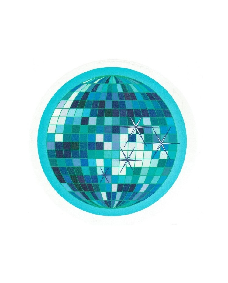 image: Edible Image - Disco mirror ball