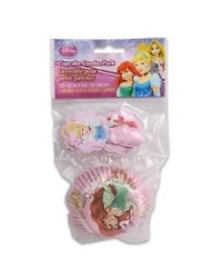 image: Disney Princess Cupcake paper & picks combo pack
