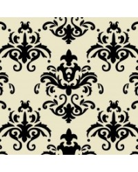 image: Chocolate transfer sheet Damask BLACK
