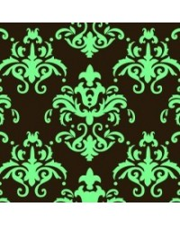 image: Chocolate transfer sheet Damask TEAL