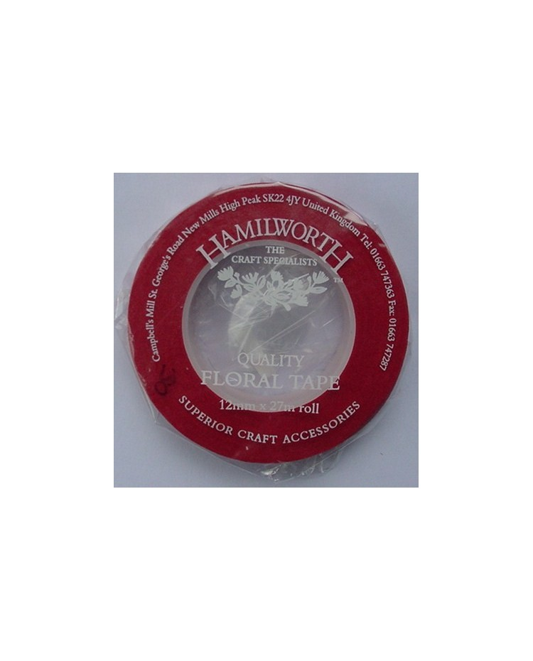 image: Red Floral Tape 13mm