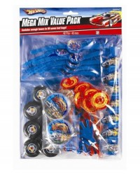 image: Hot Wheels 42 piece favour pack