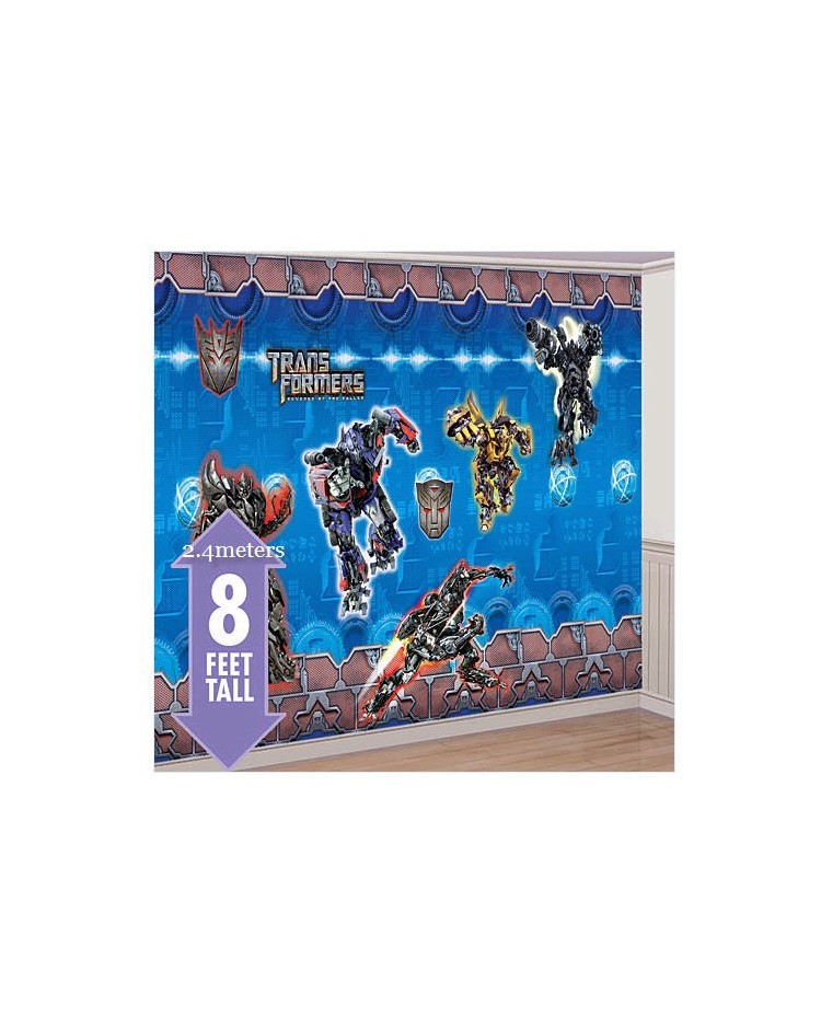 image: Transformers giant decorating room kit