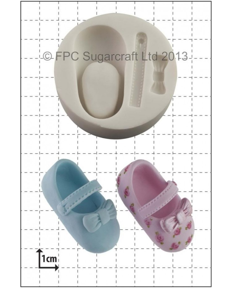 image: Baby Shoe silicone mould
