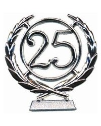image: number wreath 25 SILVER