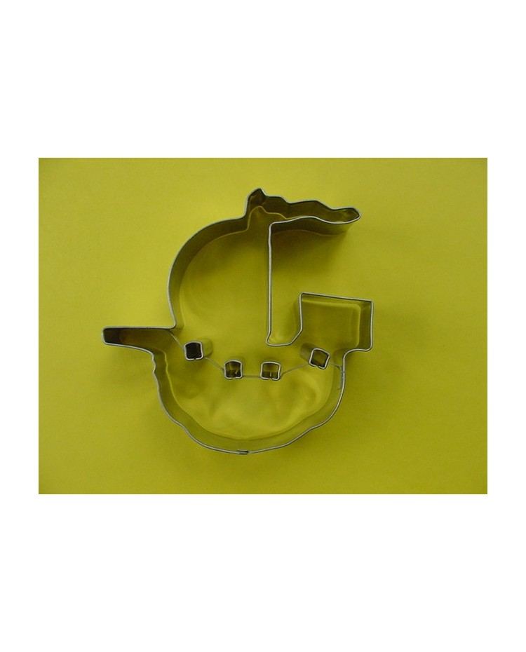 image: Pirate Ship Galleon cookie cutter