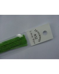 image: 32 gauge wire SPRING GREEN (pkt 50)
