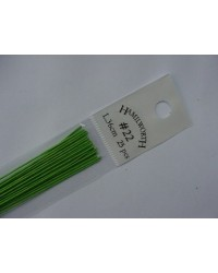 image: 22 gauge wire SPRING GREEN (pkt 25)