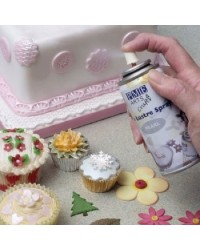 image: Silver Edible PME Lustre Spray 100ml