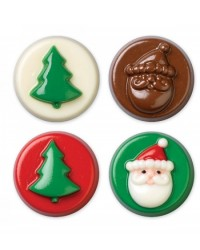 image: Jolly Fun Cookie Chocolate Mould