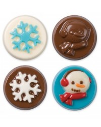 image: Winter Wishes Cookie Chocolate Mould