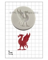 image: Liver Bird silicone mould