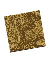 image: Chocolate transfer sheet Paisley Gold #1