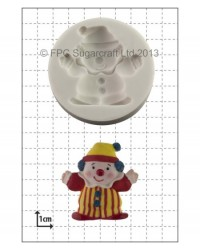 image: Clown silicone mould