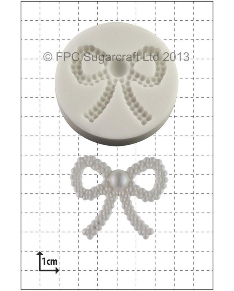 image: Pearl Bow silicone mould