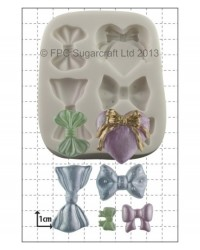 image: Bows assorted silicone mould