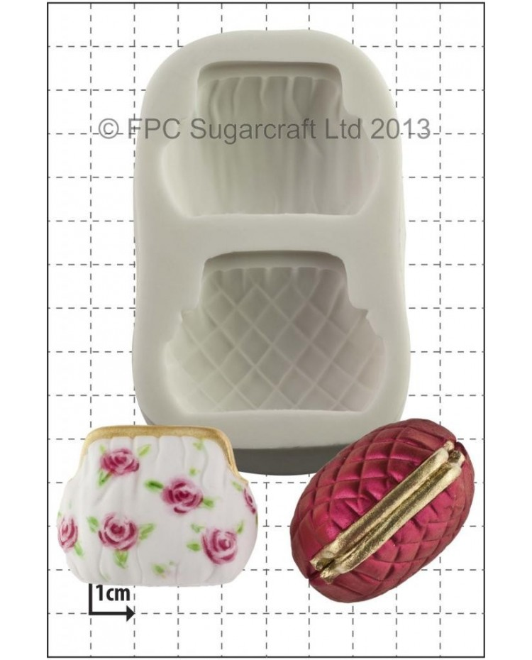 image: 3d Purse Handbag silicone mould
