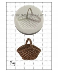 image: Wicker Basket silicone mould