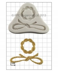 image: Buckle & Bow (cake jewellery) silicone mould