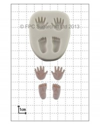 image: Tiny Hands & Feet silicone mould