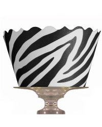 image: Cupcake wrappers Zebra (12)