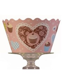 image: Cupcake wrappers Hearts & Cupcakes (12)