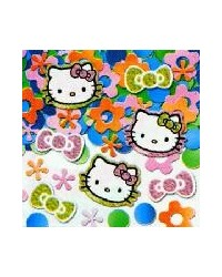 image: Hello Kitty party prismatic confetti