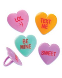 image: Conversation hearts cupcake rings (12)