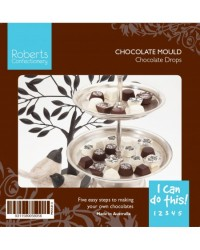 image: Truffle cups & pyramids chocolate mould (can be filled)