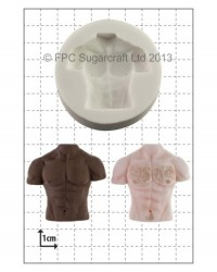 image: Male six pack muscles Torso silicone mould